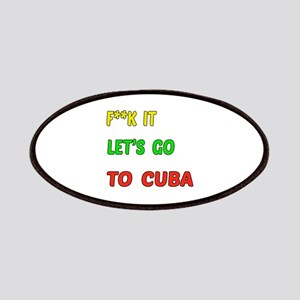 Let's go to Cuba Patch