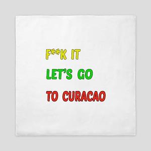 Let's go to Curacao Queen Duvet