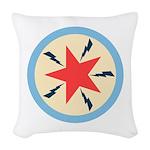 Star Power Woven Throw Pillow
