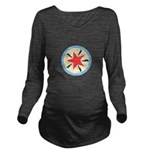 Star Power Long Sleeve Maternity T-Shirt