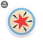 "Star Power 3.5"" Button (10 pack)"