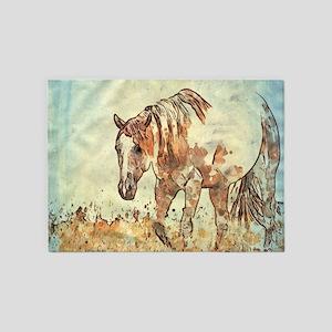 Art Stuio 12216 Horse 5'x7'Area Rug