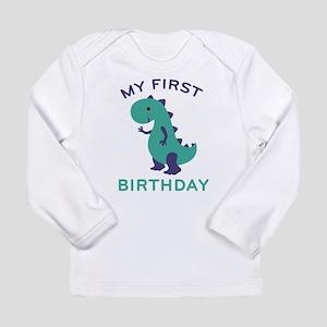 My First Birthday Long Sleeve T-Shirt