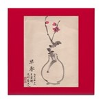 Chinese Painting Tile Coaster