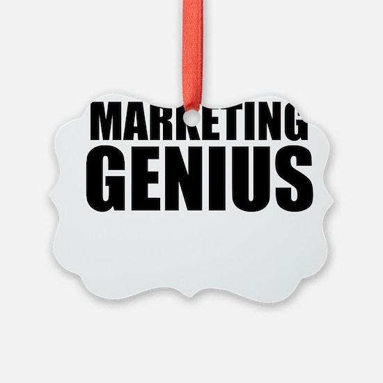 Marketing Genius Ornament