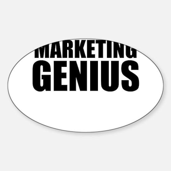 Marketing Genius Decal