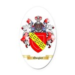 Quigley Oval Car Magnet