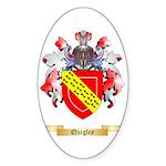 Quigley Sticker (Oval 50 pk)
