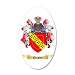 Quigley 20x12 Oval Wall Decal