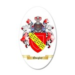 Quigley 35x21 Oval Wall Decal