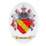 Quigley Oval Ornament