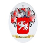 Quievreux Oval Ornament
