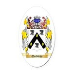 Quiddihy Oval Car Magnet