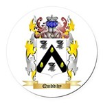 Quiddihy Round Car Magnet