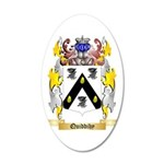 Quiddihy 35x21 Oval Wall Decal