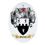 Queyos Oval Ornament