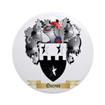 Queyos Round Ornament