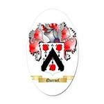 Quernel Oval Car Magnet