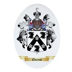 Quenot Oval Ornament