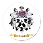Quenel Round Car Magnet