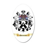 Queneaux 20x12 Oval Wall Decal