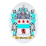 Queeny Oval Ornament