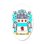 Queen Oval Car Magnet