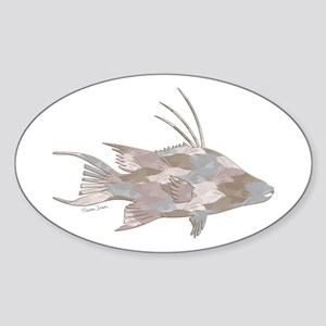 Cindy's Camo Hogfish Sticker