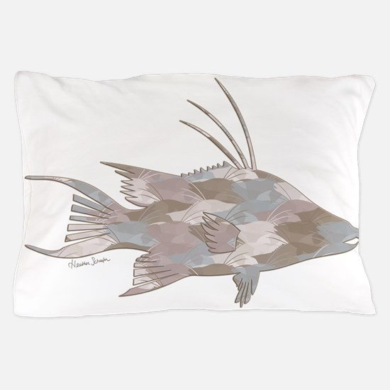 Cindy's Camo Hogfish Pillow Case