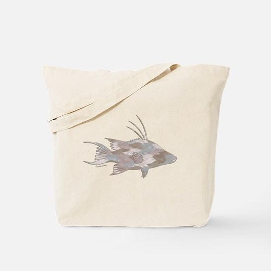 Cindy's Camo Hogfish Tote Bag