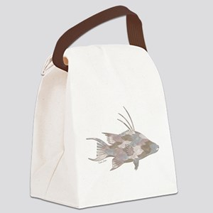 Cindy's Camo Hogfish Canvas Lunch Bag