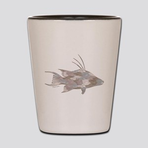 Cindy's Camo Hogfish Shot Glass