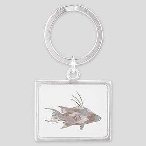 Cindy's Camo Hogfish Keychains