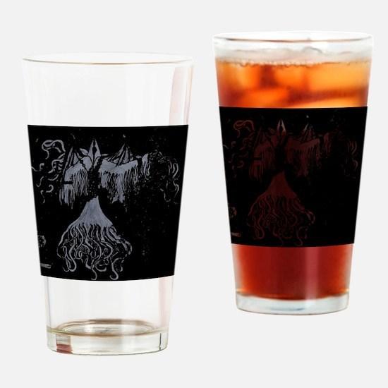 Unique Grim reaper Drinking Glass
