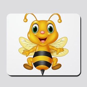 Honey bee Mousepad