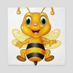 Honey bee Queen Duvet
