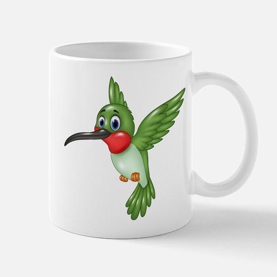 Hummingbird green Mugs