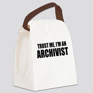 Trust Me, I'm An Archivist Canvas Lunch Bag