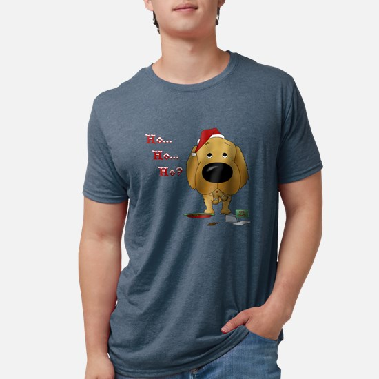 Golden Retriever Santa T-Shirt