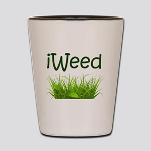 iWeed Shot Glass