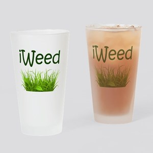 iWeed Drinking Glass