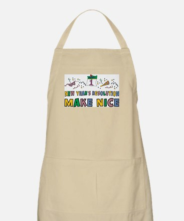 New Year Resolution BBQ Apron