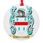 Quarterman Round Ornament