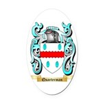 Quarterman Oval Car Magnet