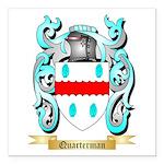 Quarterman Square Car Magnet 3