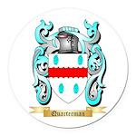 Quarterman Round Car Magnet