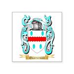 Quarterman Square Sticker 3