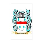 Quarterman Sticker (Rectangle 50 pk)