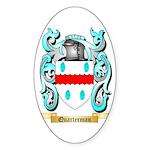 Quarterman Sticker (Oval 50 pk)