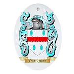 Quarterman Oval Ornament